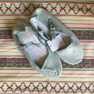 Urban Outfitters Light Denim Mary Jane Flats NWT